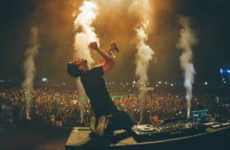 nucleya on stage