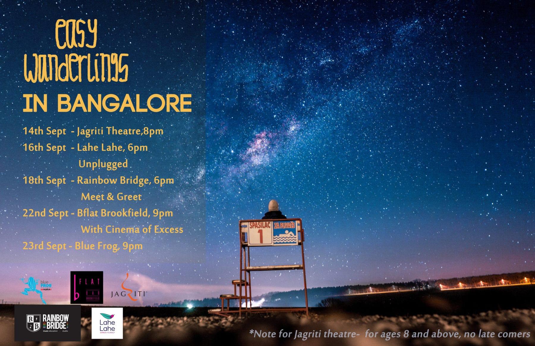 Easy Wanderlings in Bangalore