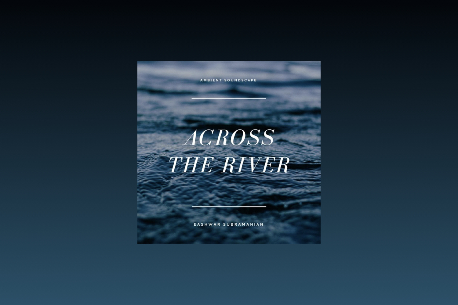 Across The River cover art